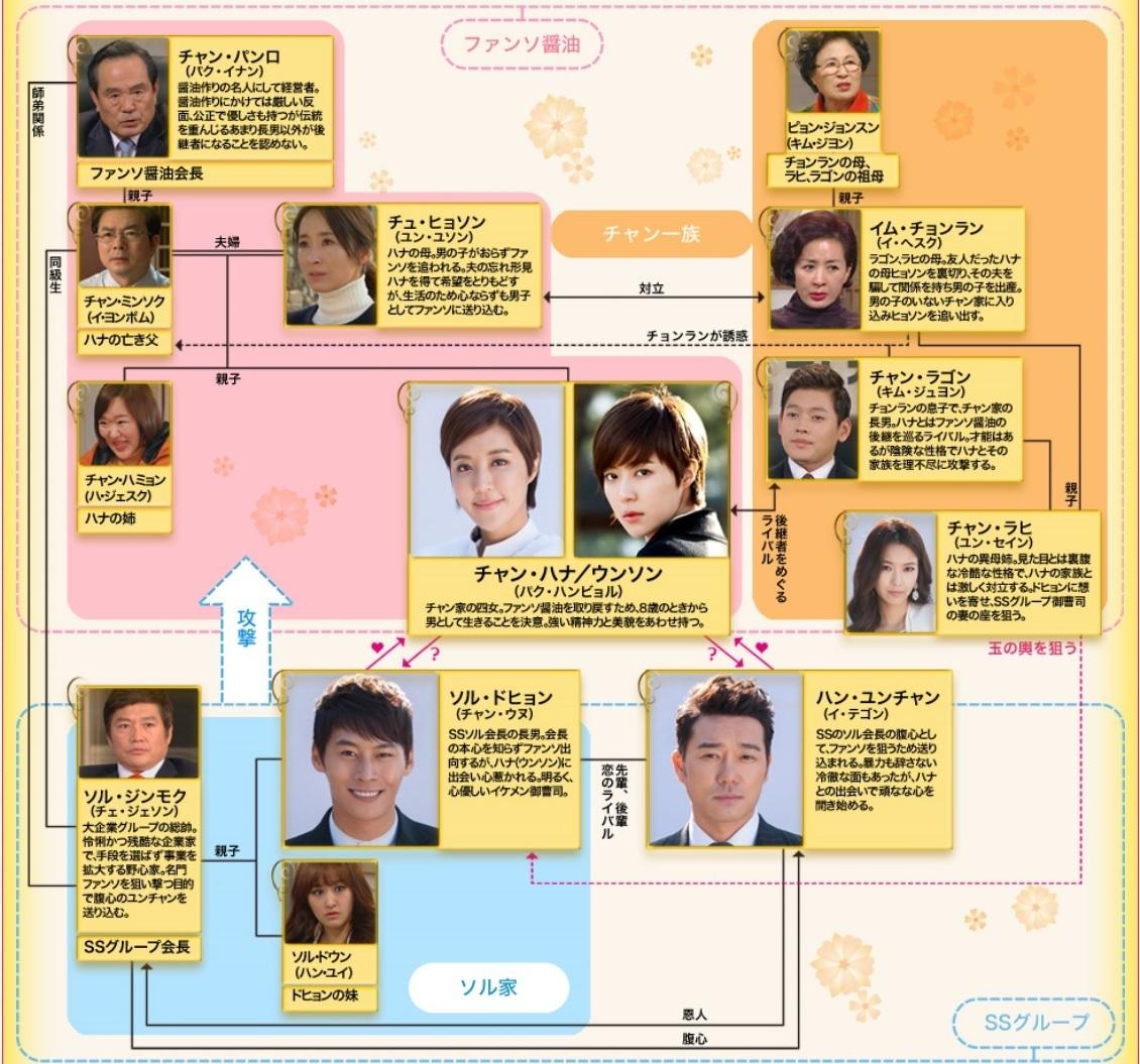 韓国ドラマ-大切に育てた娘ハナ-あらすじ-相関図-感想